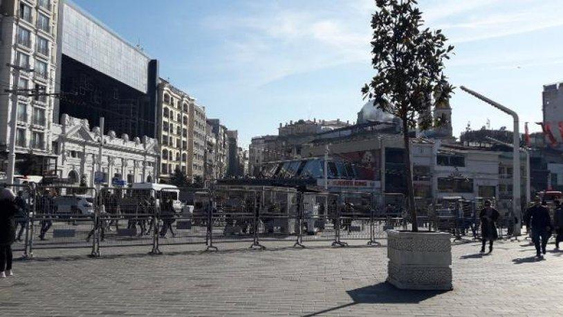 Kadın yürüyüşüne engel! İstiklal Caddesi kapatıldı