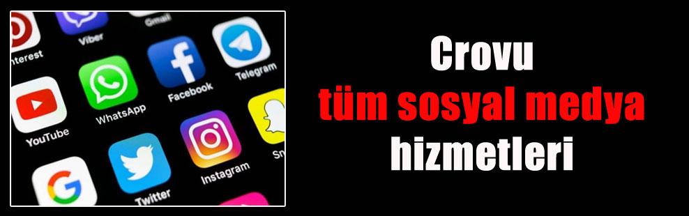 Crovu tüm sosyal medya hizmetleri