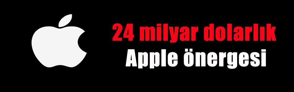 24 milyar dolarlık Apple önergesi