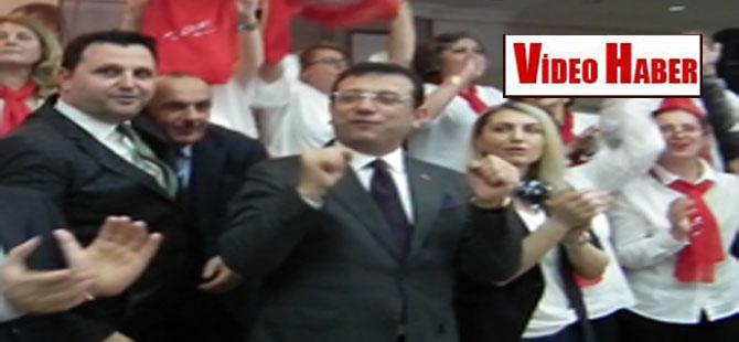 Ekrem İmamoğlu'ndan İzmir Marşı