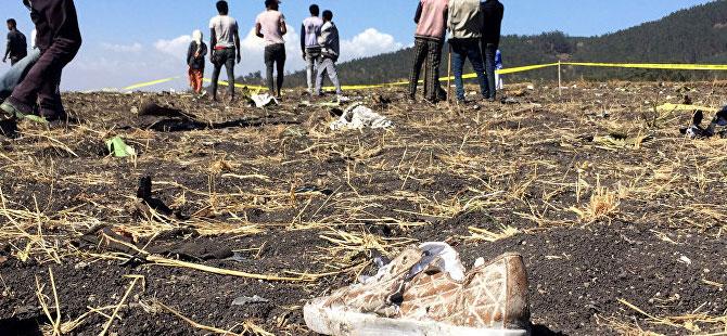 Etiyopya'da düşen uçağın kara kutusu bulundu