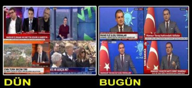 Mansur Yavaş'ı görmeyen haber kanalları suçlamaları canlı olarak verdi