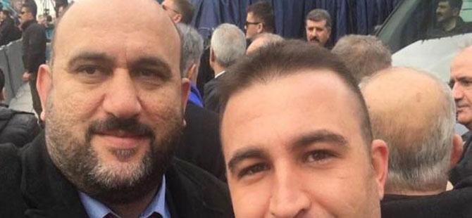 İl seçim müdürü AKP mitinginde!