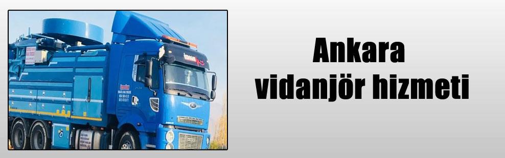 Ankara vidanjör hizmeti