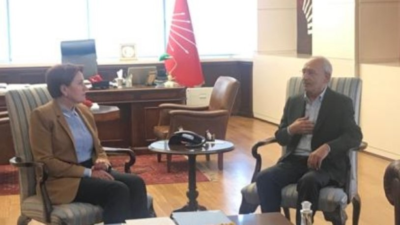 Kılıçdaroğlu'na ilk ziyaret Meral Akşener'den