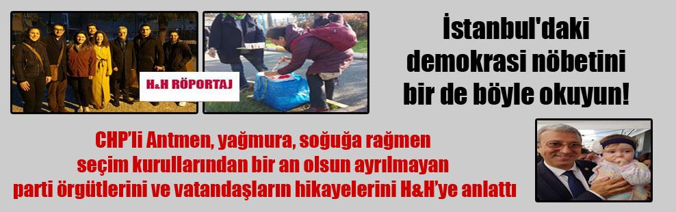 İstanbul'daki demokrasi nöbetini bir de böyle okuyun!
