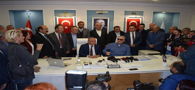 Baykal, ilk ziyaretini Antalya İl Başkanlığı'na yaptı