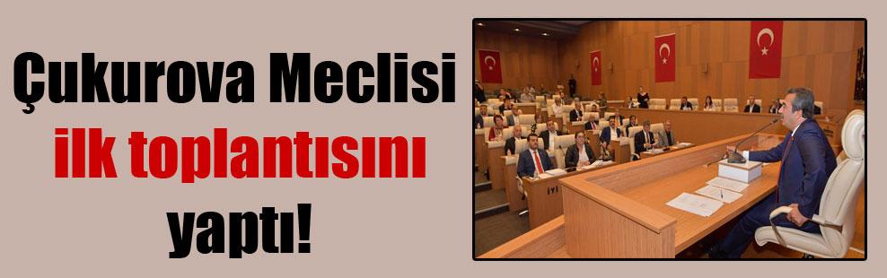 Çukurova Meclisi ilk toplantısını yaptı!