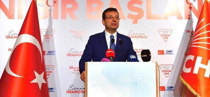 İmamoğlu, Erdoğan'ın bıçaklanan manevi kızını  ziyaret etti