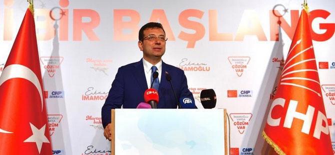 İmamoğlu: Fazıl Say'ı, Cem Yılmaz'ı görmeyen İstanbullu kalmasın istiyorum