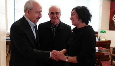 Halkevleri'nden Kılıçdaroğlu'na geçmiş olsun ziyareti