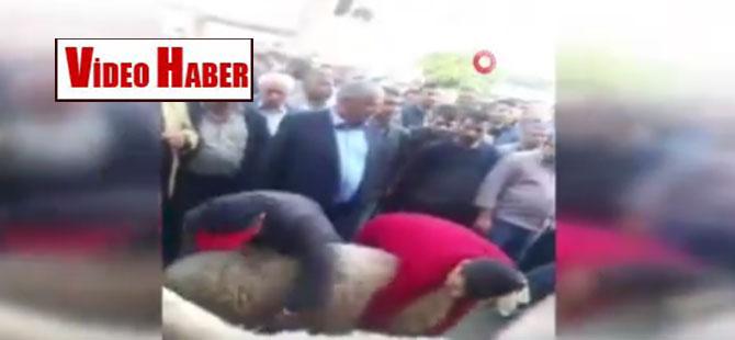 CHP'li başkan kurban kestirdi!