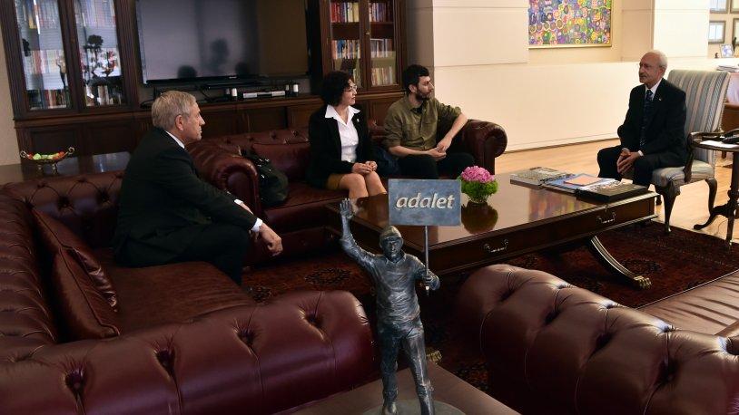 Kılıçdaroğlu, ÖDP Kurucu Üyeleri ile bir araya geldi