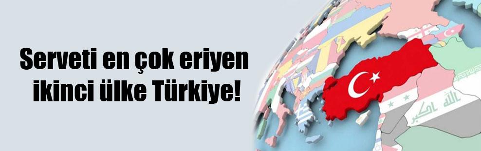 Serveti en çok eriyen ikinci ülke Türkiye!