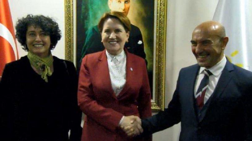 Tunç Soyer'den Meral Akşener'e ziyaret
