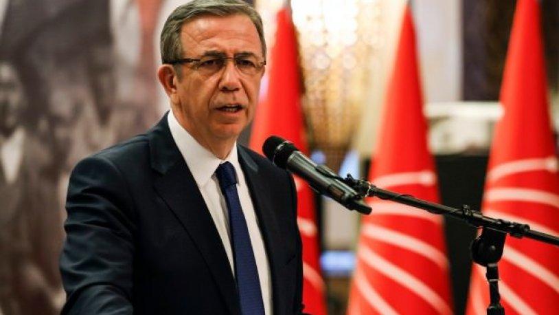 Mansur Yavaş'tan Kılıçdaroğlu'na saldırı açıklaması