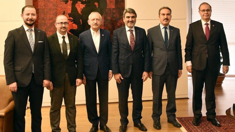 Kılıçdaroğlu, MÜSİAD heyetini kabul etti