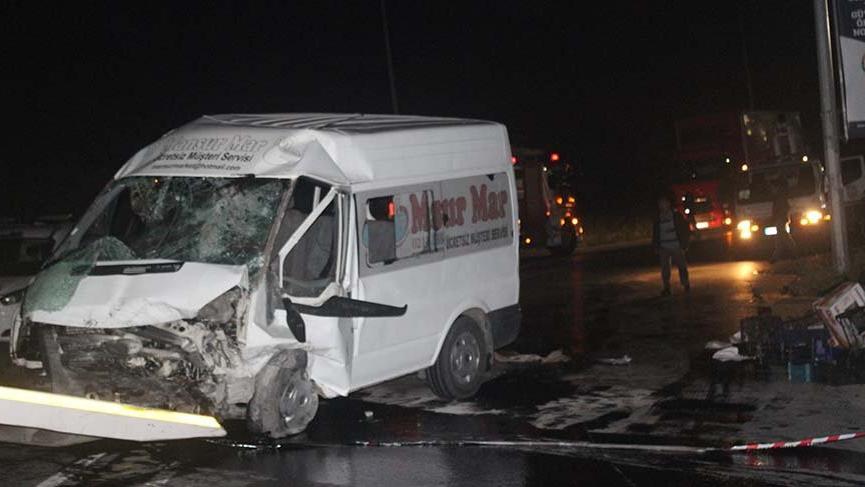 Avcılar'da trafik kazası: 12 yaralı