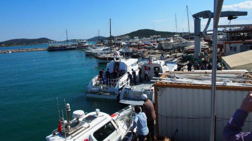 Ayvalık'ta tekne faciası: Ölü ve kayıplar var