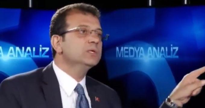 Ekrem İmamoğlu, canlı yayında açıklamalarda bulunuyor