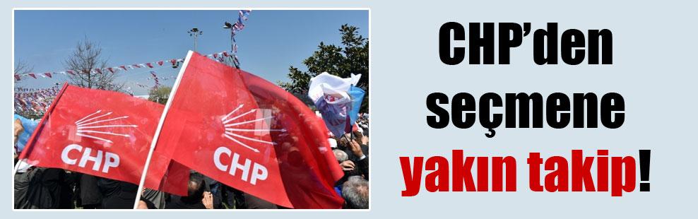 CHP'den seçmene yakın takip!