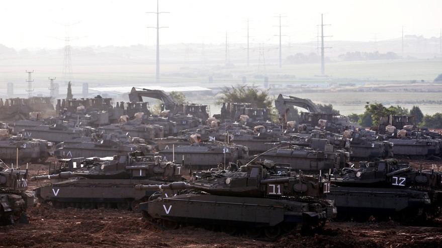 İsrail'in korkunç saldırısında ölü sayısı artıyor: İsrail tankları sınırda bekliyor