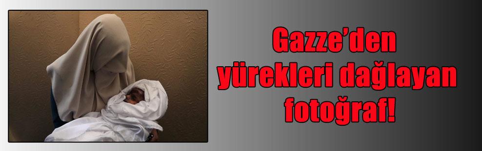 Gazze'den yürekleri dağlayan fotoğraf!