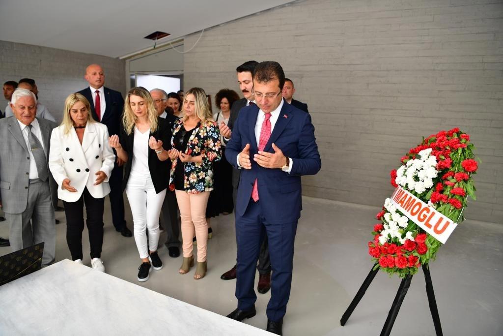 'Denktaş anıt mezarı için İmamoğlu ile girişim yaptık'