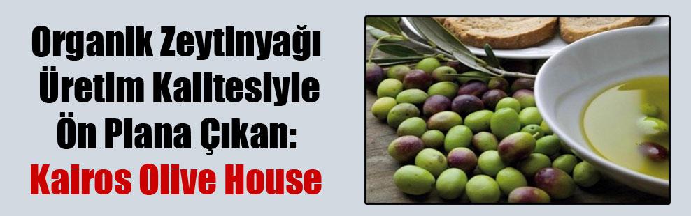 Organik Zeytinyağı Üretim Kalitesiyle Ön Plana Çıkan: Kairos Olive House