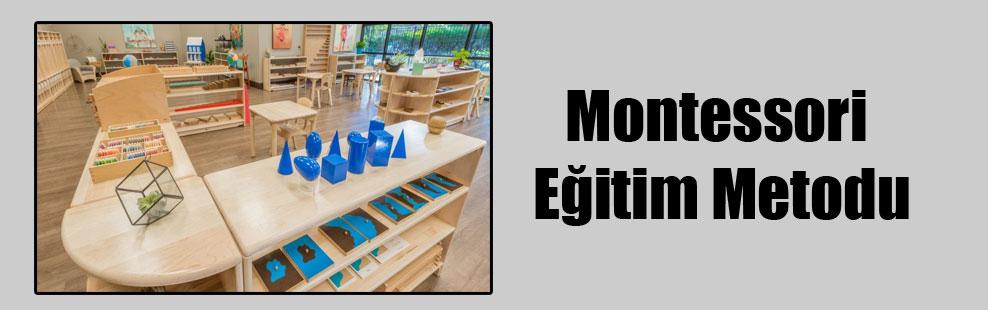 Montessori Eğitim Metodu