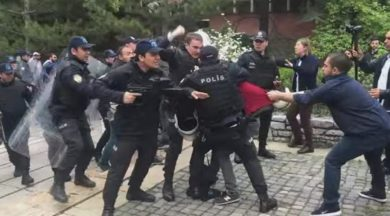 ODTÜ'de Onur Yürüyüşüne polis müdahalesi
