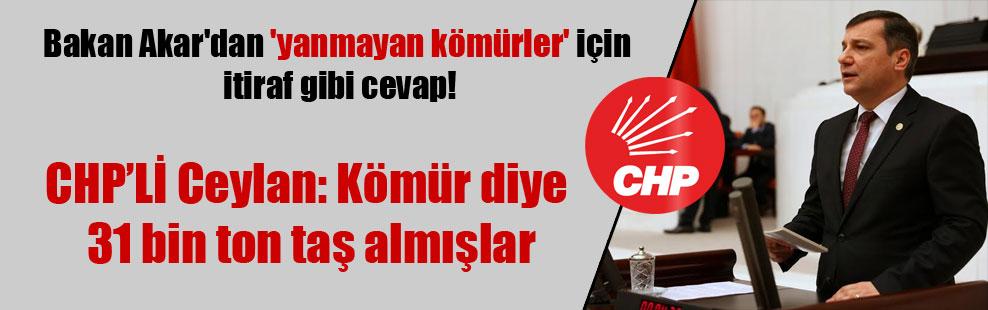 Bakan Akar'dan 'yanmayan kömürler' için itiraf gibi cevap!