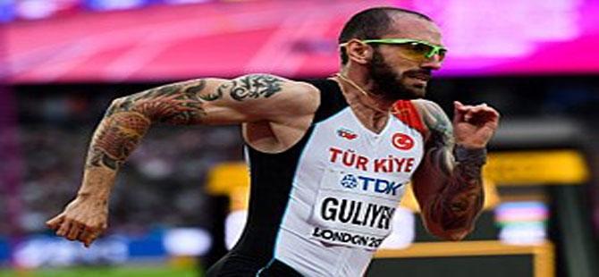 Ramil Guliyev Tokyo 2020'ye gidiyor! 19.99 ile birinci oldu…