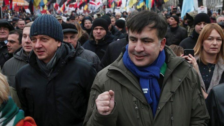 Gürcistan'ın eski cumhurbaşkanı Ukrayna vatandaşı oldu