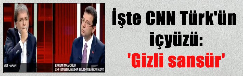 İşte CNN Türk'ün içyüzü: 'Gizli sansür'