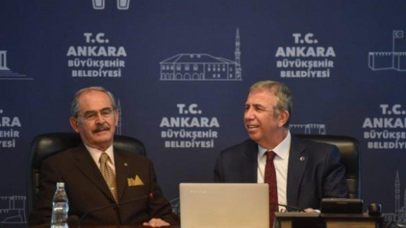 Yılmaz Büyükerşen'den Mansur Yavaş'a ziyaret