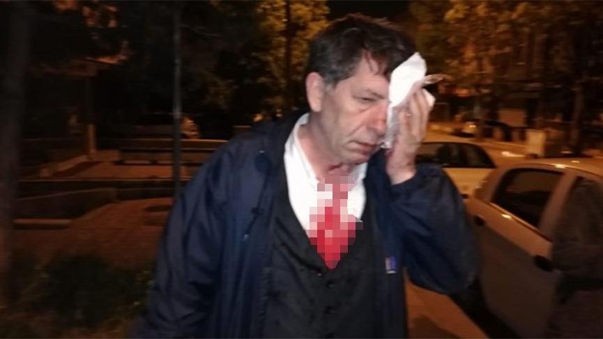 Gazeteci Yavuz Selim Demirağ'a evinin önünde saldırı!