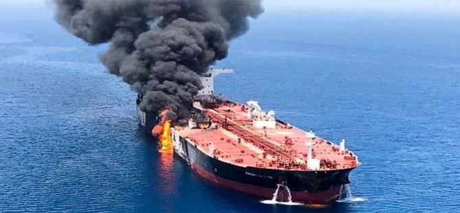 Tahran: Pompeo'nun iki petrol tankerindeki patlamalardan sorumlu olduğumuz iddiası temelsiz