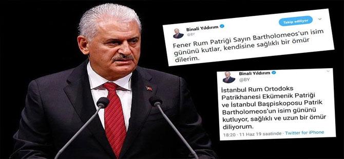 Binali Yıldırım'ın sildiği ekümeniklik tweeti sosyal medyada tartışmalara neden oldu!