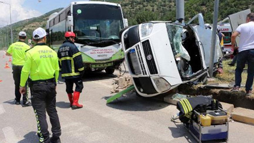 Bayram tatilinin 6 günlük kaza bilançosu: 61 ölü, 429 yaralı