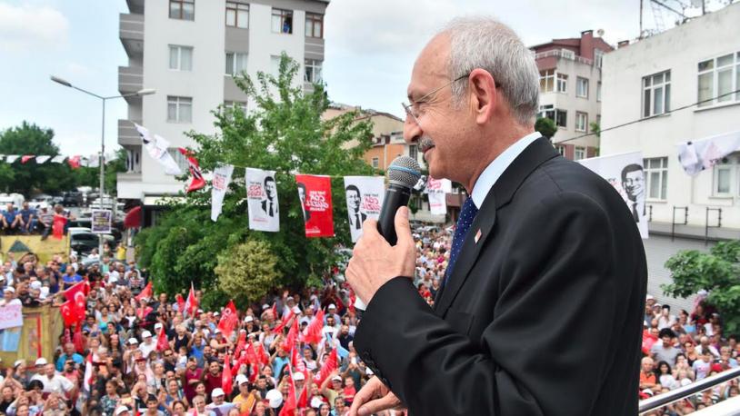 Kılıçdaroğlu: Bu bir adalet seçimidir, bu bir hukuk seçimidir