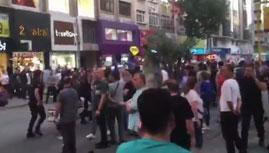 AKP'lilerden Ümraniye'de CHP'lilere saldırı girişimi