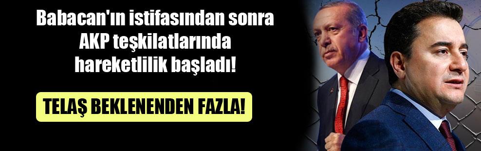 Babacan'ın istifasından sonra AKP teşkilatlarında hareketlilik başladı!