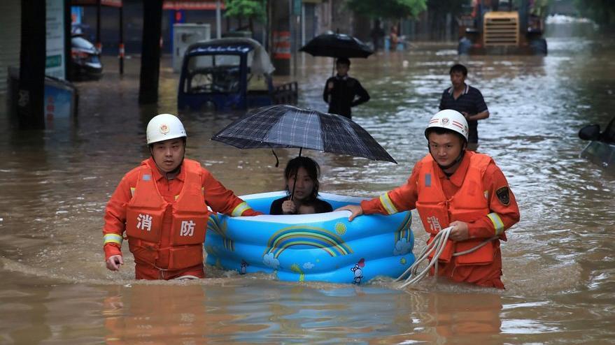 Çin'de sel felaketi: Onlarca ölü ve kayıp var