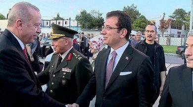 İmamoğlu, Erdoğan'ı protokolde karşıladı!