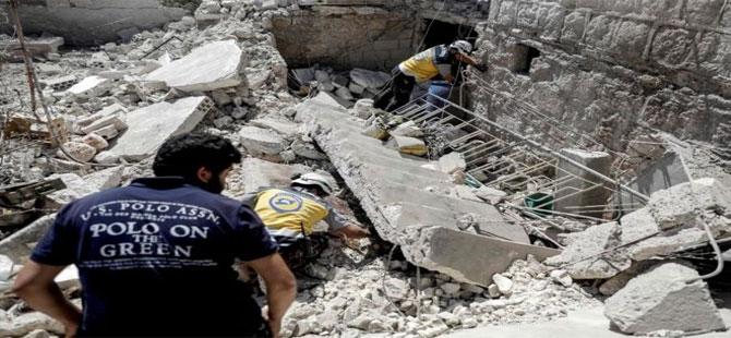 İdlib'e düzenlenen hava saldırılarında 18 kişi hayatını kaybetti