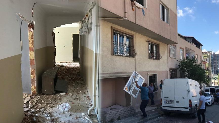Kağıthane'de bir ailenin yıkım paniği!