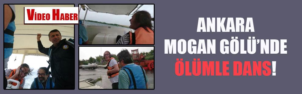 Ankara Mogan Gölü'nde ölümle dans!