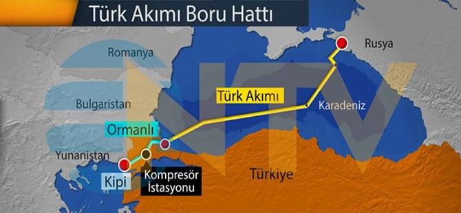 TürkAkım'da vanalar açıldı