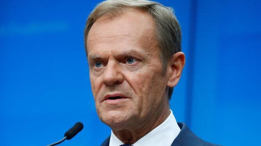Avrupa Konseyi Başkanı Tusk: Doğu Akdeniz'de Türkiye tansiyonu yükseltiyor